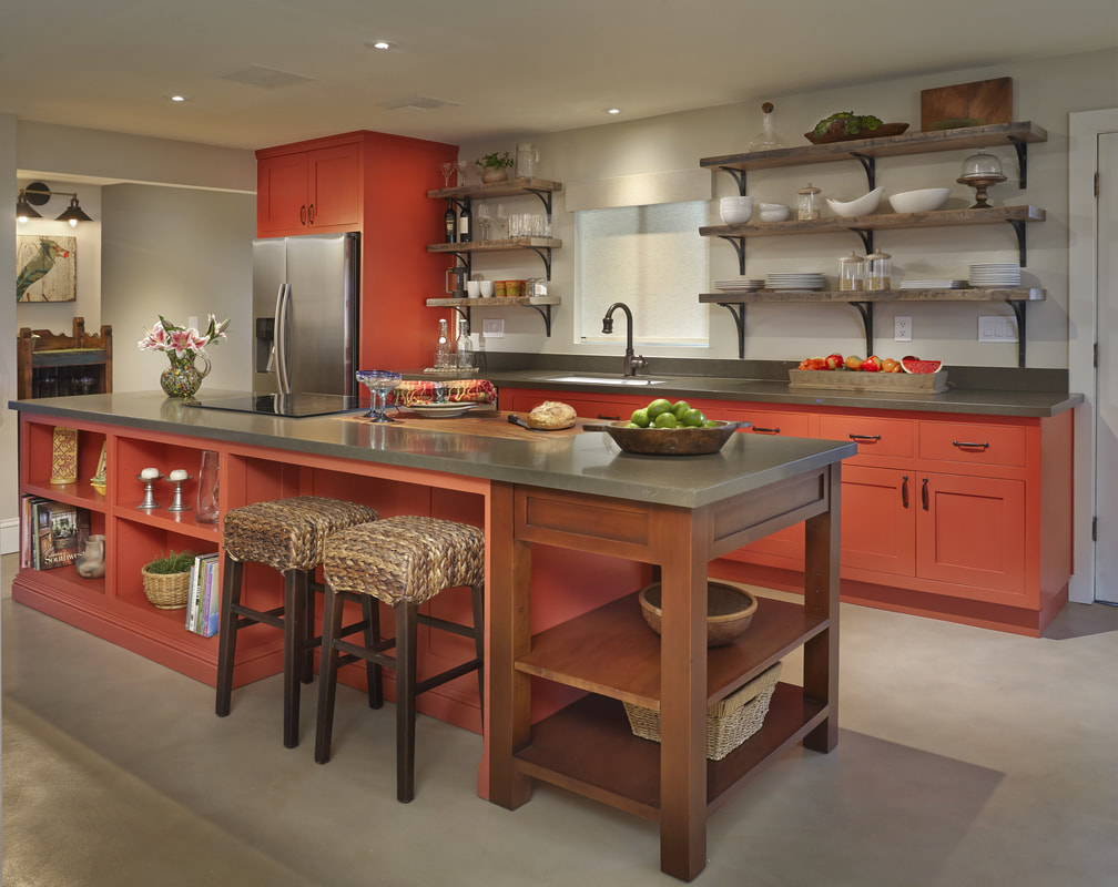 Picture kitchen interior design orange dining room cabinet Top 20 Interior Designers in Tucson